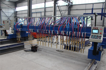 gantry cnc plasma cutter flame torch