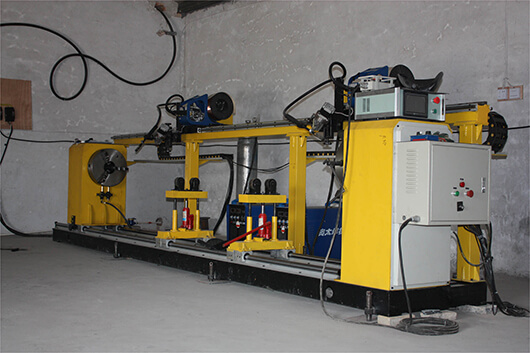 Automatic four torch pipe flange circumferential seam welding machine price