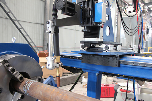 Automatic pipe flange circular seam welder for sale