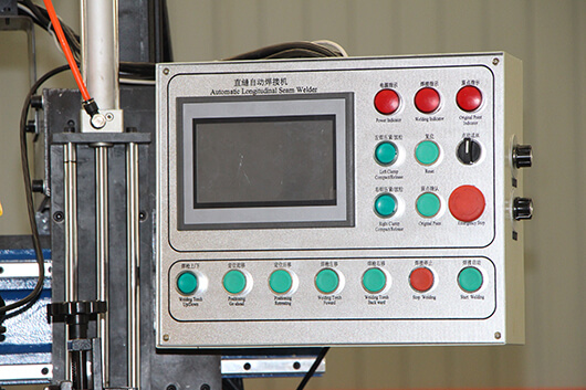Operating System for Automatic Longitudinal Seam Welder