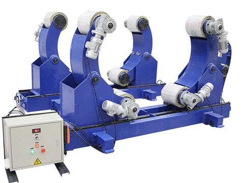 Oval tank and pipe welding rollers for sale