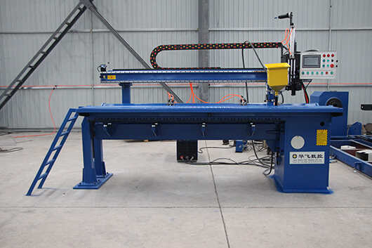 Rack for Automatic Longitudinal Seam Welder