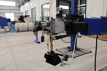 welding manipulator welding head