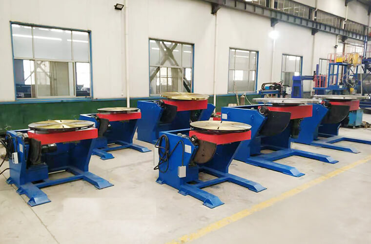 Various types of welding positioner