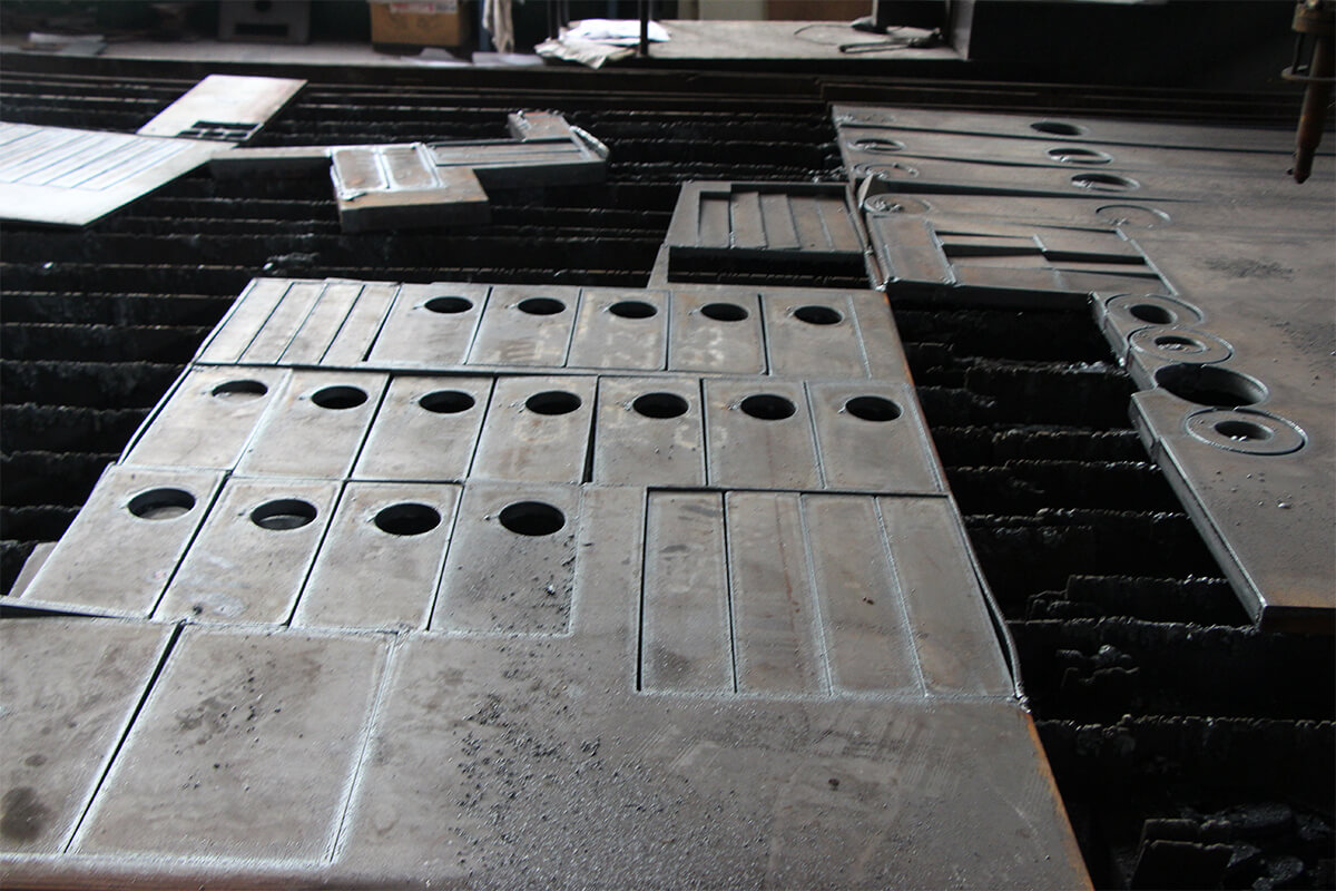 Evaluation standard for cutting quality of CNC plasma cutter