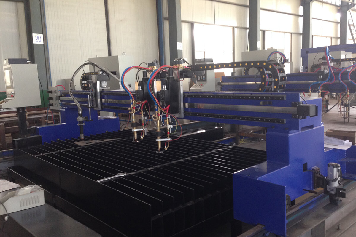 cnc plasma oxy-fuel cutting machine 1