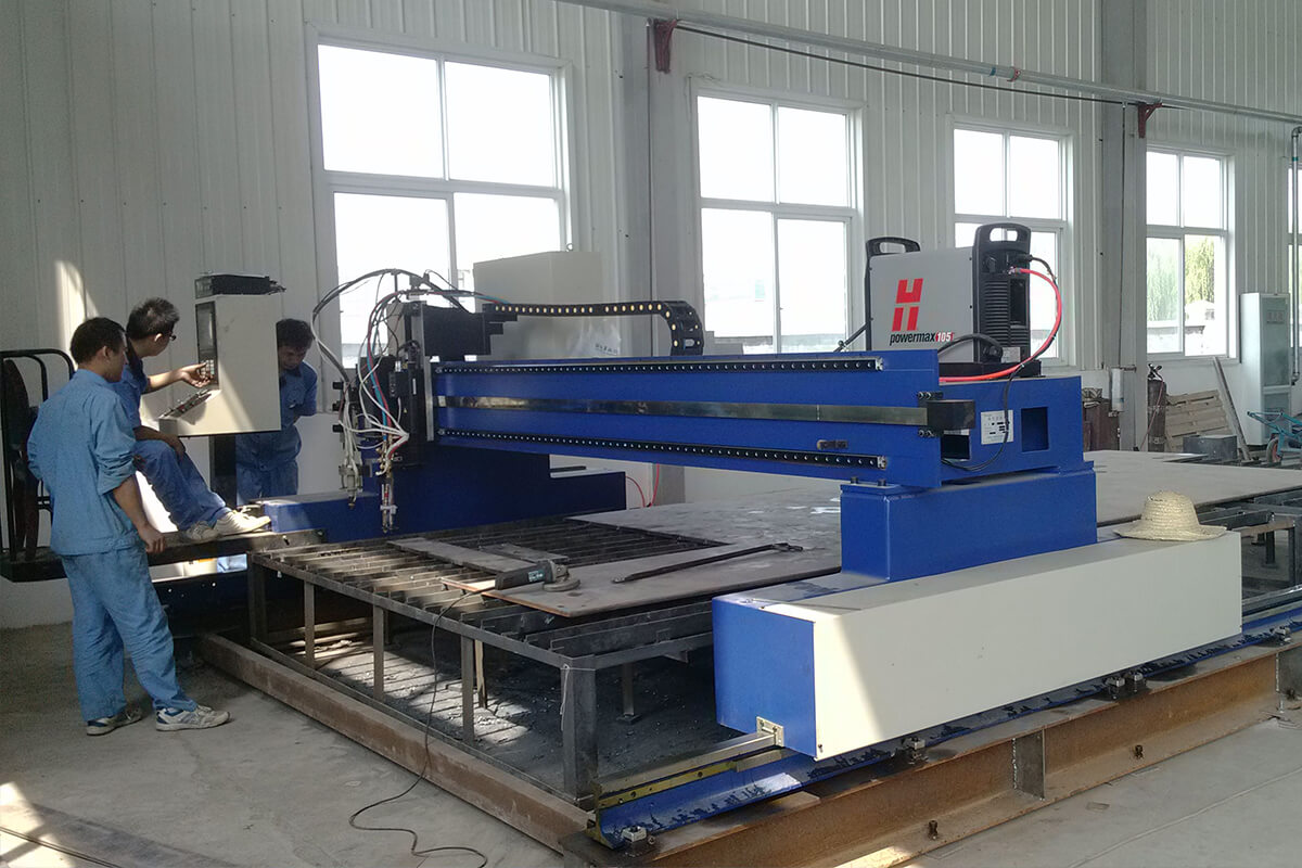 cnc plasma oxy-fuel cutting machine