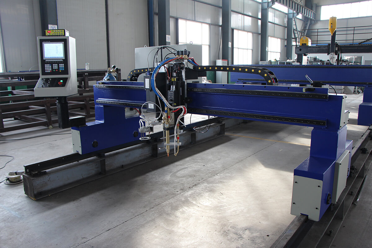 gantry cnc plasma flame cutting machine