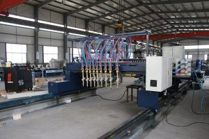 CNC flame straight cutting machine