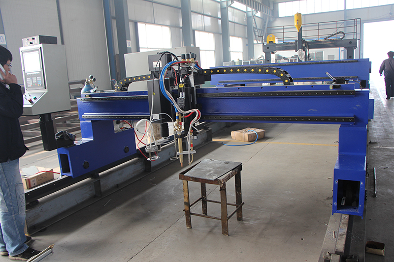 gantry cnc flame plasma cutting machine