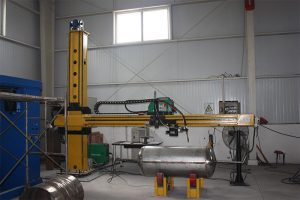 Safe operation of welding manipulator